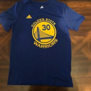 Adidas golden state boys tee